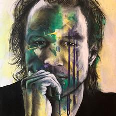"Heath Ledger 22"" x 16"""