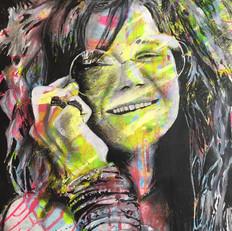 "Janis Joplin 22"" x 16"""