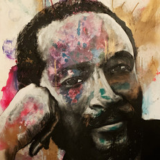"Marvin Gaye 33"" x 24"""