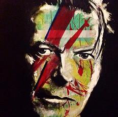 """David Bowie 36"""" x 24"""""""