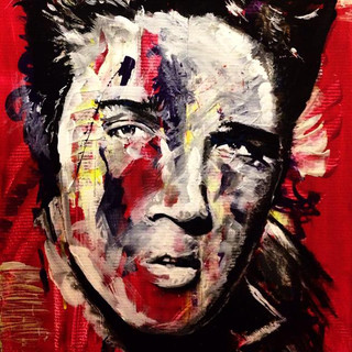 "Elvis 36"" x 24"""