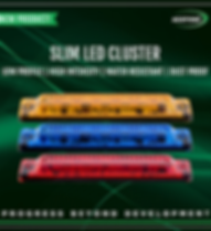 Slim Led Cluster - ACOT500
