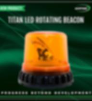 LED Rotating Beacon - ACOT500