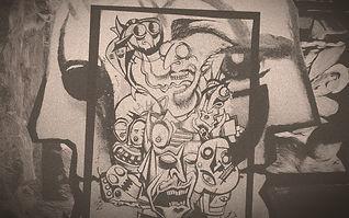 EROL ZENDIS - Pi-Kazzo - Semi Cubist Nightmare (Reticulated)_edited.jpg