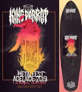 Erol Zendis Skateboards - Band Series 06 - KING PARROT