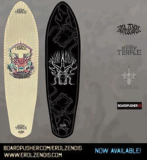 Erol Zendis Skateboards - Gods of the Se