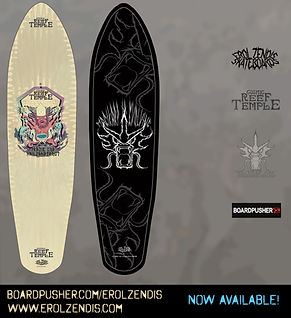 Erol Zendis Skateboards - Gods of the Se