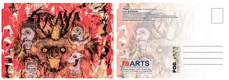 Straya - Official RSASA Postcard