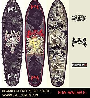 Erol Zendis Skateboards - Band Series -