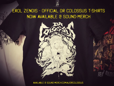 OFFICIAL DR COLOSSUS T-SHIRT
