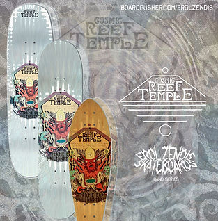 Cosmic Reef Temple New Deck Shapes Promo