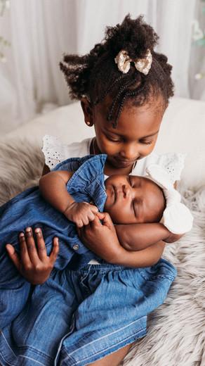 Newborn & Sibling Studio Session   Zoie + Zion