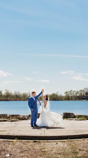 Centennial Park Wedding, Orland Park, IL | Lillian + Zach