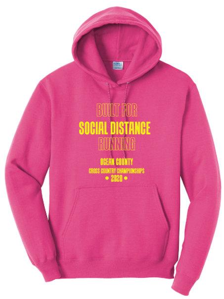 Ocean County XC Hoodie (Pink)