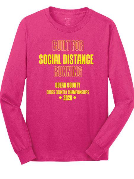 Ocean County XC LS T-Shirt (Pink)