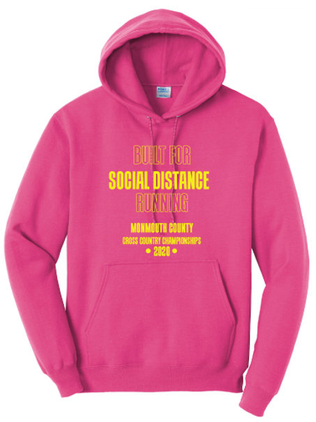 Monmouth County XC Hoodie (Pink)