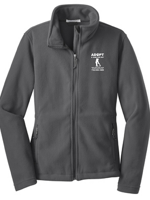 Jersey Shore Animal Center Staff Women's Fleece Jacket