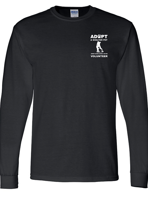 Jersey Shore Animal Center VOLUNTEER LS T-Shirt