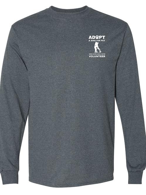 Jersey Shore Animal Center VOLUNTEER LS T-Shirt