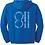 Thumbnail: P811Q Hooded Sweatshirt ***PERSONLIZED***