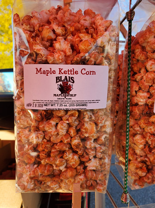 Maple Kettle Popcorn , Blais Maple Syrup