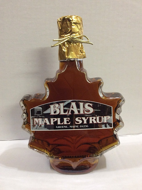 Maple Syrup (maple leaf glass) , Blais Maple Syrup