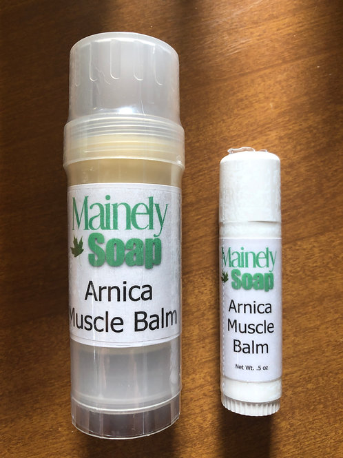 Arnica Muscle Balm , Mainely Soap