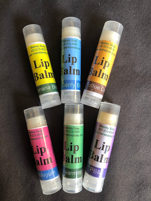 Lip Balm, Mainely Soap