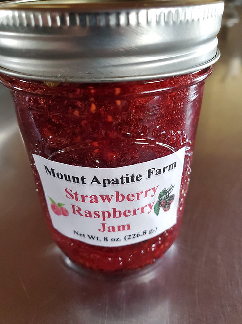 Strawberry Raspberry Jam , Mount Apatite Farm