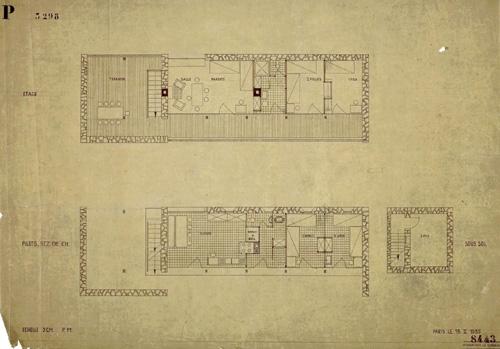 Le Sextant Plan 2 étages