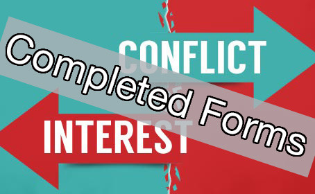 Conflict Of Interest Declarations