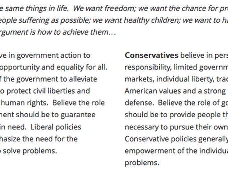 How I Became a Conservative
