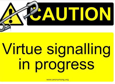 Virtue Signaling