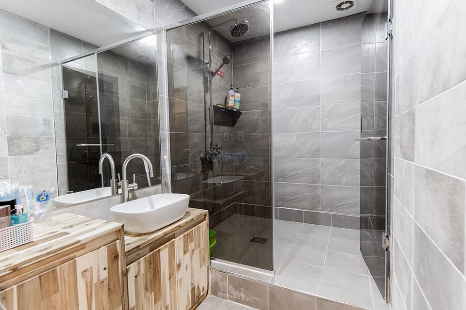 수원 매탄동 골든테라피 샤워실