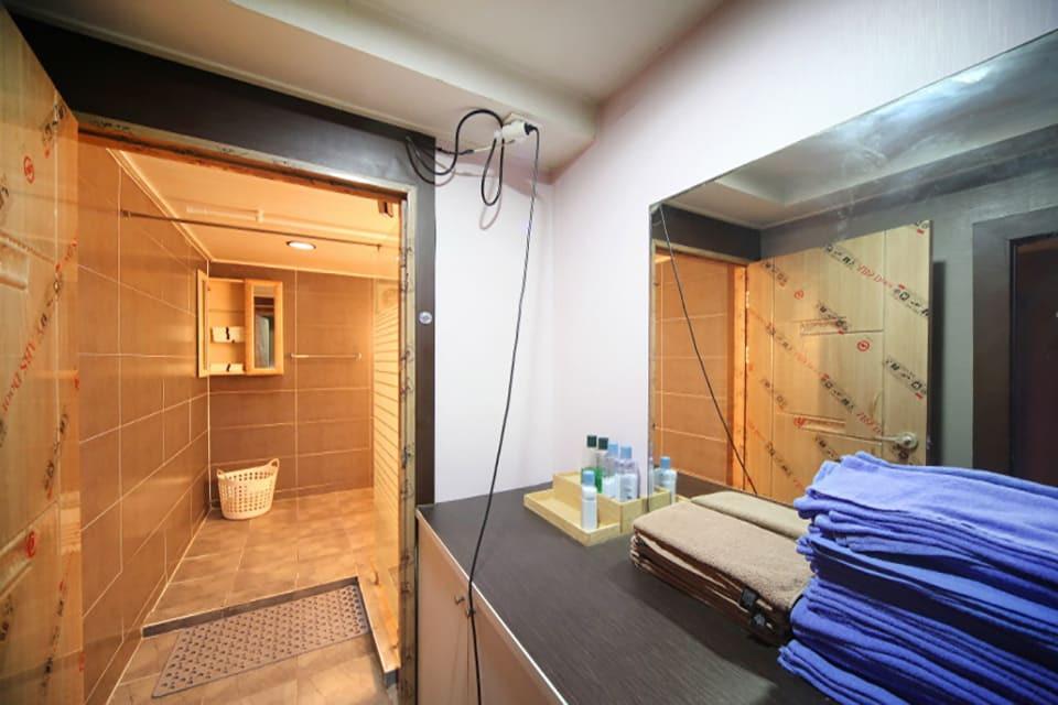 대구 두산동 코카콜라테라피 샤워실