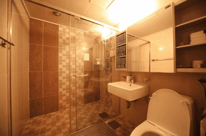 동대문 장한평역 민트테라피 화장실