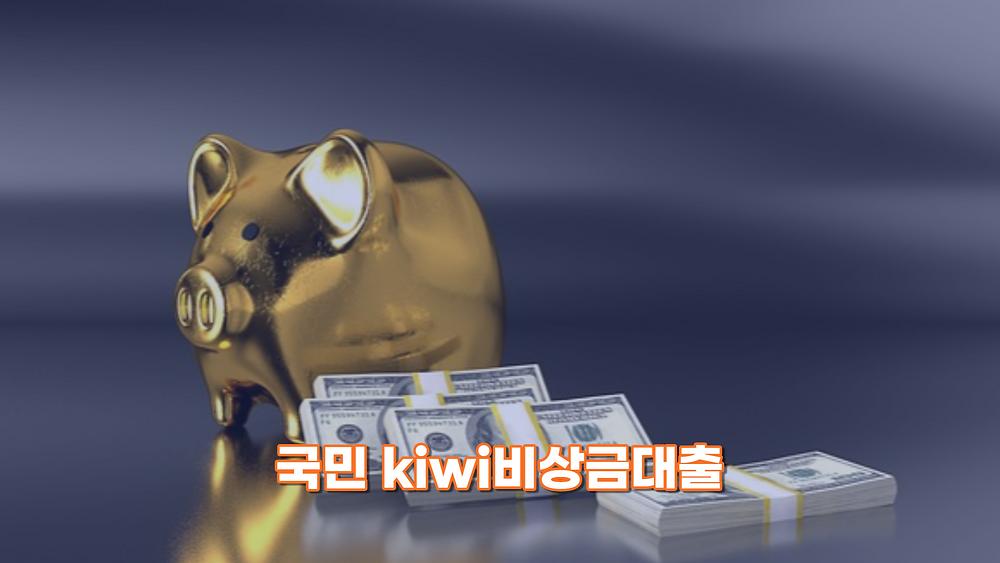 국민 kiwi비상금대출