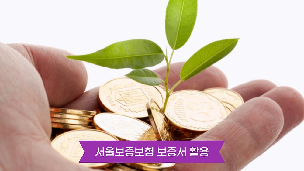 서울보증보험 보증서 활용