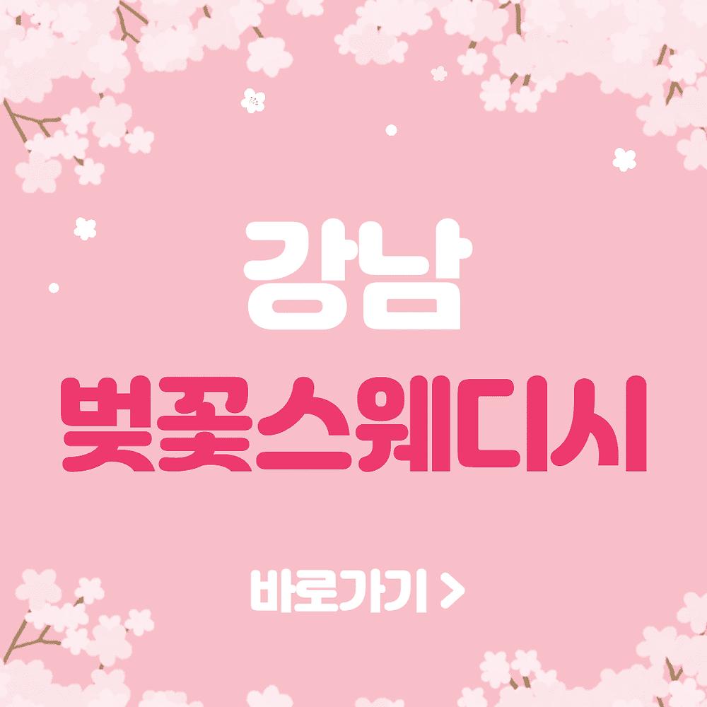 강남 벚꽃스웨디시