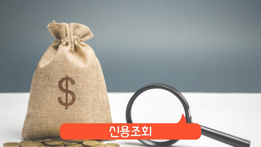 신용등급 올리기 팁 - 신용조회