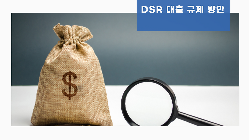 DSR 대출 규제 방안