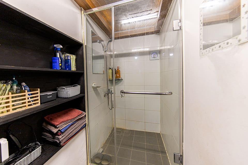 용산 이태원 헬로스웨디시 샤워실