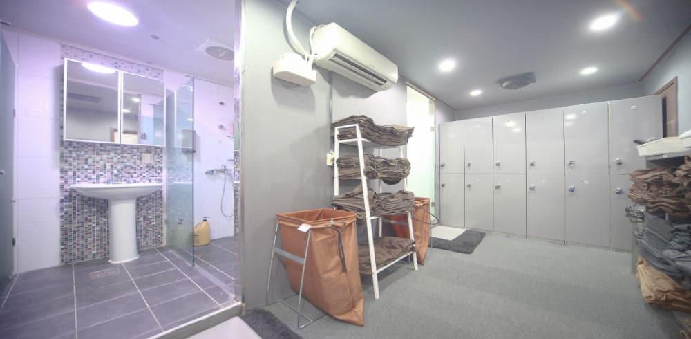 일산 정발산역 스테이스파 샤워실