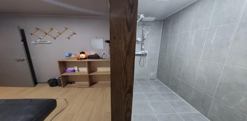 목포 옥암동 에스스웨디시 샤워실