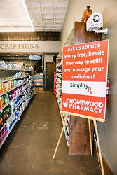 homewood pharmacy simplify rx program, simplify your prescriptions