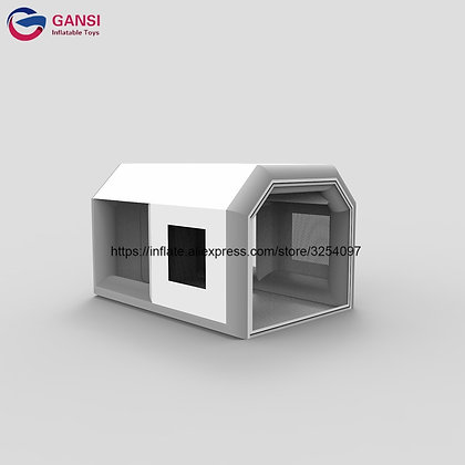 4x3x2.5m Inflatable Car Paint Booth With Filter System