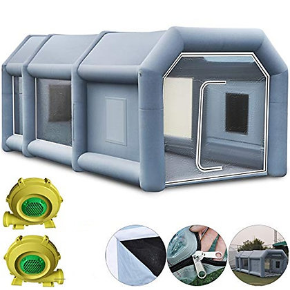 Inflatable Spray Paint Booth With Carbon Filter