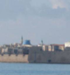Acco Skyline, Akko, Acre, Old city walls