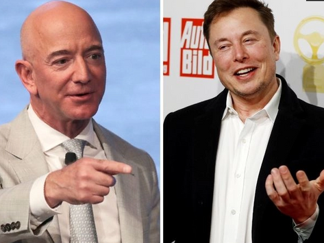 Why are Elon Musk and Jeff Bezos, the world's richest men, so interested in space?