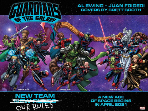 The Shocking Final Members of the Guardians of the Galaxy Are Revealed